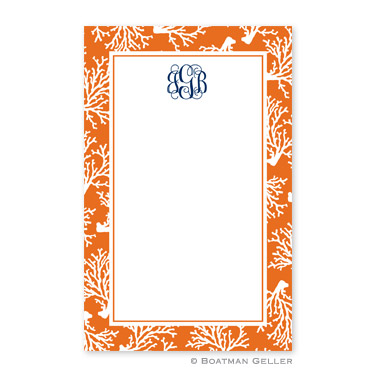Coral Repeat Notepad