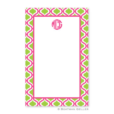 Kate Raspberry & Lime Notepad