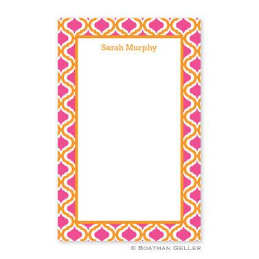Kate Tangerine & Raspberry Notepad