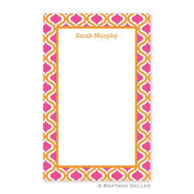 Kate Tangerine & Raspberry Notepad
