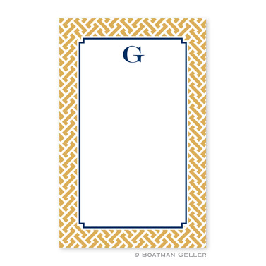 Stella Gold Notepad