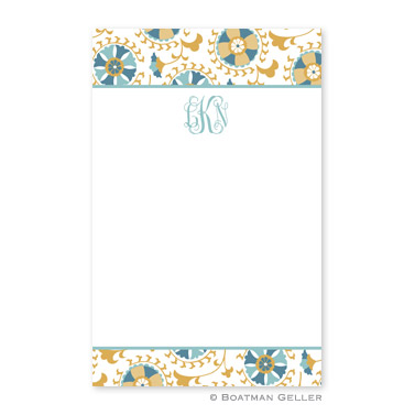 Suzani Gold Notepad