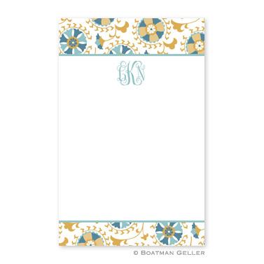 Suzani Gold Notepad