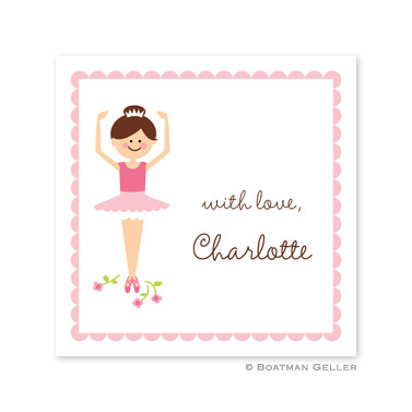 Ballerina   Square Sticker