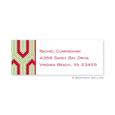 Blaine Cherry Holiday Address Label