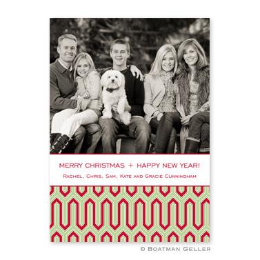Blaine Cherry Flat Holiday Photocard