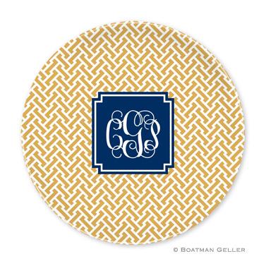 Stella Gold Personalized Plate
