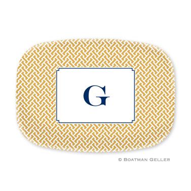 Stella Gold Personalized Platter