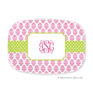 Beti Pink Personalized Platter