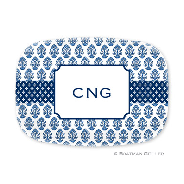 Beti Navy Personalized Platter