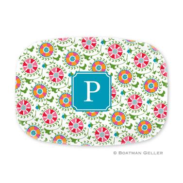 Suzani Personalized Platter