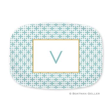 Lattice Slate Personalized Platter