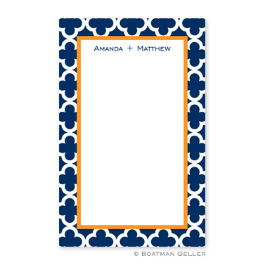 Bristol Tile Navy Notepad