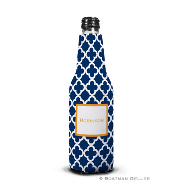 Bristol Tile Navy Bottle Koozie