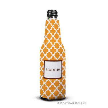 Bristol Tile Tangerine Bottle Koozie