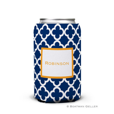 Bristol Tile Navy Can Koozie
