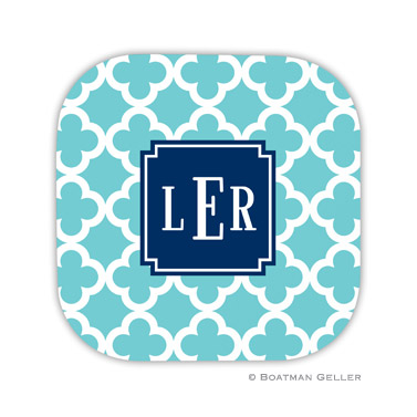 Bristol Tile Teal Coaster