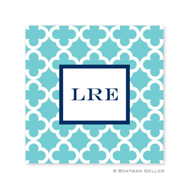 Bristol Tile Teal Coasters