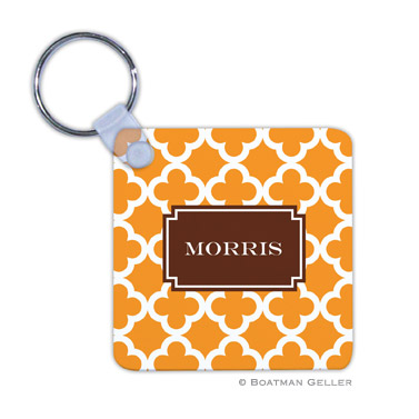 Bristol Tile Tangerine Key Chain