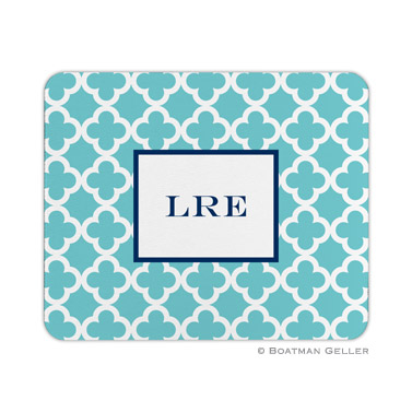 Bristol Tile Teal Mouse Pad