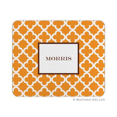 Bristol Tile Tangerine Mouse Pad