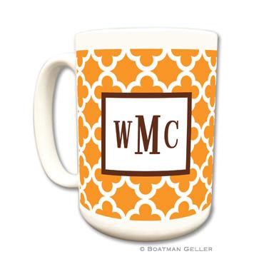 Bristol Tile Tangerine Mug
