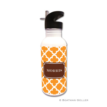 Bristol Tile Tangerine Water Bottle