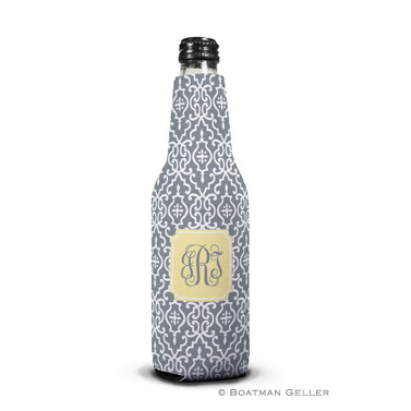 Wrought Iron Gray Bottle Koozie