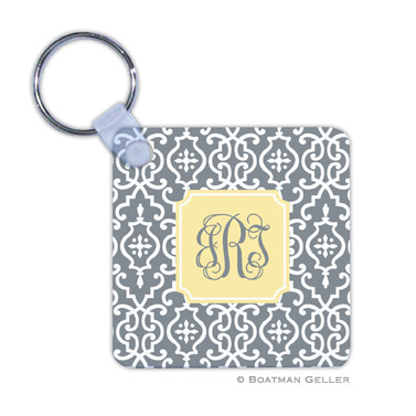 Wrought Iron Gray  Key Chain