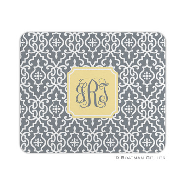 Wrought Iron Gray Mouse Pad