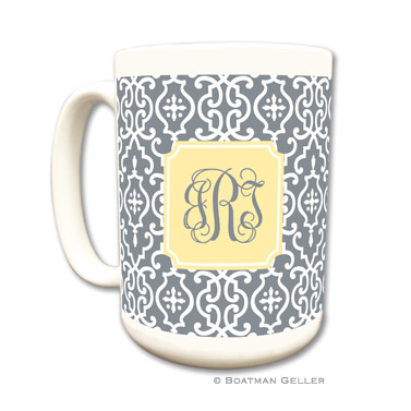 Wrought Iron Gray Mug