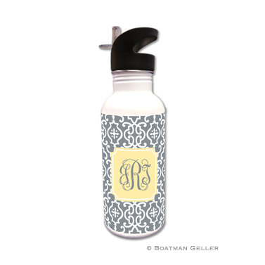 Wrought Iron Gray Water Bottle