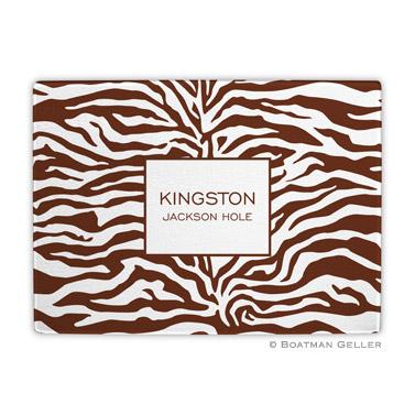 Zebra Chocolate Cutting Board
