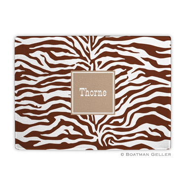 Zebra Chocolate Cutting Board