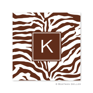 Zebra Chocolate Coasters