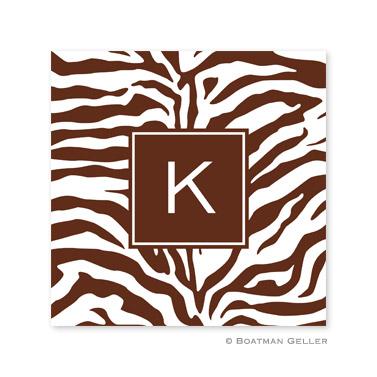 Zebra Chocolate Coasters