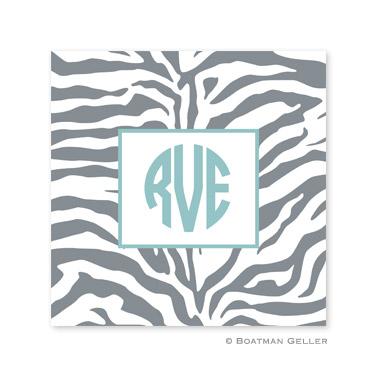 Zebra Gray Coasters