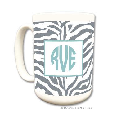 Zebra Gray Mug