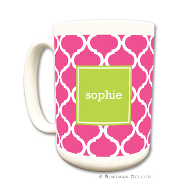 Ann Tile Raspberry Mug