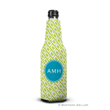 Chain Link Lime Bottle Koozie