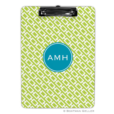 Chain Link Lime Clipboard