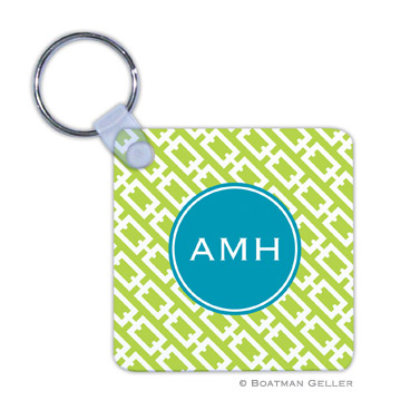Chain Link Lime  Key Chain