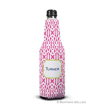 Cameron Raspberry Bottle Koozie