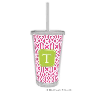 Cameron Raspberry Beverage Tumbler