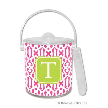 Cameron Raspberry Ice Bucket