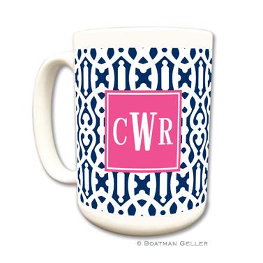 Cameron Navy Mug