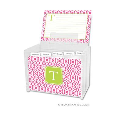 Cameron Raspberry Recipe Box