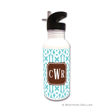 Cameron Teal Water Bottle