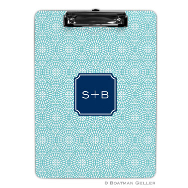 Bursts Teal Clipboard
