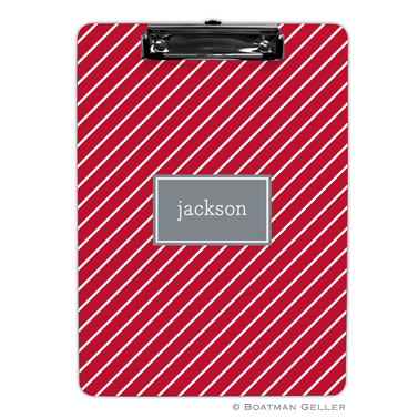 Kent Stripe Cherry Clipboard